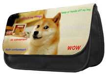 ) shibe Matita Custodia / Borsa-MEME Reddit DOG ANIMALE AMANTE IDEA REGALO UNICA DS