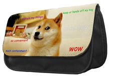 Doge Shibe Pencil Case/Bag - meme reddit dog animal lover gift idea unique DS