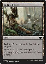 Polluted Mire  NM  x4   Commander 2014  MTG  Magic Cards Land  Common