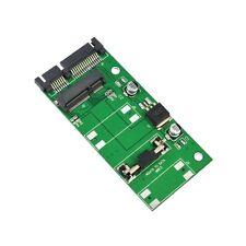 "MSATA mini PCI-E 1,8 ""SSD 2,5"" SATA 22-Pin Konverter Adapter für 5 cm SSD 10157K"