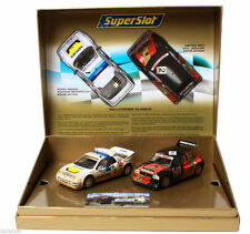 Superslot C3267  RALLYCROSS CLASICO MG METRO 6R4 / FORD RS200 SCALEXTRIC UK New
