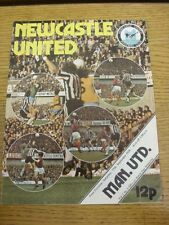 11/09/1976 Newcastle United v Manchester United  (Small Marks). Thanks for viewi