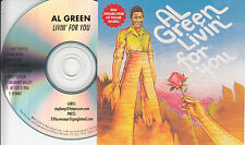 AL GREEN Livin For You 2009 US 9-trk promo CD