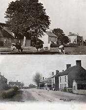 2 the Green North Street Wicken Nr Ely Soham old postcards used 1907