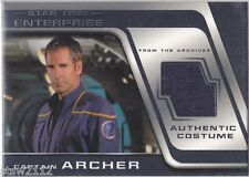 STAR TREK ENTERPRISE SEASON 3 COSTUME CARD C2 CAPTAIN ARCHER SCOTT BAKULA BINDER