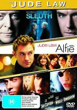 Alfie (2004) / Sky Captain and the World of Tomorrow / Sleuth (2007) DVD NEW