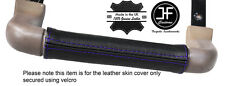 PURPLE STITCH DASH GRAB HANDLE LEATHER COVER FITS LAND ROVER DISCOVERY 1 89-93