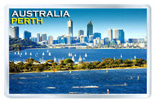PERTH AUSTRALIA FRIDGE MAGNET SOUVENIR IMAN NEVERA