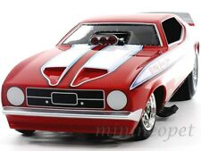 AUTOWORLD AW1117 1972 FORD MUSTANG FOSTER'S KING COBRA NHRA FUNNY CAR 1/18 RED