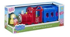 Nuevo Peppa Pig Miss Rabbits Tren & Carro Playset
