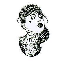 Tattoo Girls Sexy Ladys Punk Rock Sticker Decal Car Mirror Aufkleber Biker Truck