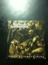 prostitute disfigurement deeds of derangement cd advanced promo death metal