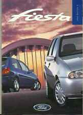 FORD FIESTA ENCORE, ZETEC, ZETEC LX, GHIA AND GHIA X SALES BROCHURE APRIL 1998