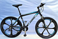 "BICICLETTA Mountain Bike 26"" GT MTB in alluminio, 21, Shimano DISC BRAKE Sparkle-Zoom avancorpo"