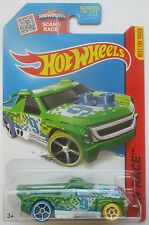 Collectible Hot Wheels HW Race Green Fig Rig 152/250 New in Blister Card
