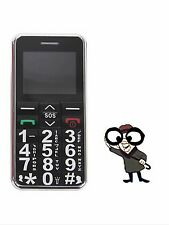 NEW BIG MOBILE PHONE - LARGE DIGITS SOS BUTTON UNLOCKED SENIOR CITIZEN LED TORCH