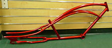 "26"" Stretch Beach Cruiser Bike Bicycle Mustang Frame Red"