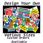 CUSTOM MADE SIGN - Parking Advertising Warning Security Business Indoor Outdoor