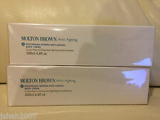 Molton Brown Skincare 2 X 200ml Polynesian Kopara Anti-Ageing Body Cream NEW