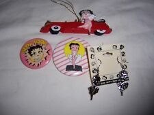 betty boop lot of 4 pens earrings and ornament free shipping