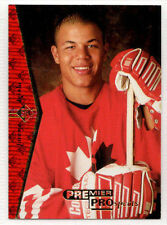 1994-95 Upper Deck SP Premier Prospects JEROME IGINLA Rookie RC Flames #181 (a)