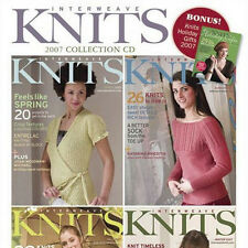 4 Issues on CD: INTERWEAVE KNITS MAGAZINE 2007 Complete Kristin Nicholas Profile