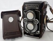 ROLLEIFLEX  model 3 / 3.5 F/75  DBGM objectif Planar Carl Zeiss Camera vintage