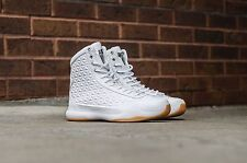 NIKE KOBE X 10 ELITE EXT QS UK 8 EUR 42.5 US 9 WHITE METALLIC SILVER GUM MAMBA