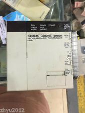 Used OMRON PLC SYSMAC CPU Module C200HS-CPU01 Tested