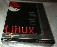 RED HAT LINUX 7.3 PERSONAL OPERATING SYSTEM OS~RHF0087US~NEW