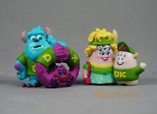 Cake Topper Decoration Toy Model Disney Monster University Sulley Art Squishy