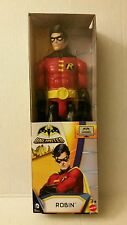 "NEW DC COMICS { ROBIN 12"" INCH ACTION FIGURE } MATTEL BATMAN UNLIMITED"