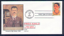 2001 FRIDA KAHLO Mexican Artist Glen #2 CACHET FIRST DAY COVER