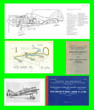 COLLECTION - REGGIANE Re2002 ARIETE 2 AVIAZIONE AERONAUTICA AIRCRAFT Manual DVD
