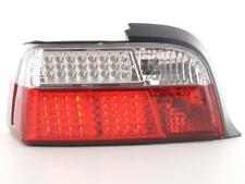 Coppia Fari Fanali Posteriori Tuning LED BMW serie 3 Coupe (E36) 91-98, rosso/bi