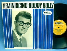 LP BUDDY HOLLY - REMINISCING  // GERMAN CURRY CORAL 97025