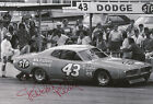 Richard Petty Hand Signed 12x8 Photo Daytona 500 Winner.
