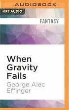 Marid Audran Trilogy: When Gravity Fails 1 by George Alec Effinger (2016, MP3...