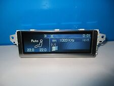 Peugeot 407 RD4 Farben Display Screen Original Niederlande Português Türkisch