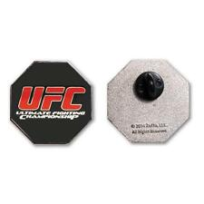 UFC Officially Licensed Logo Color Octagon Lapel Pin New/Sealed in Clamshell