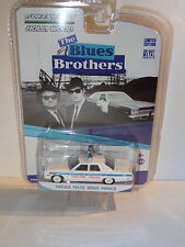 GREENLIGHT HOLLYWOOD DODGE MONACO CHICAGO POLICE BLUES BROTHERS LIMITED EDITION