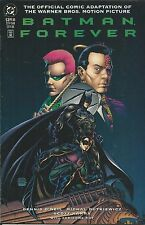 DC Batman Forever comic Movie adaptation