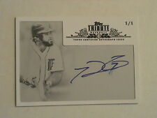 2013 Topps Tribute Prince Fielder Milwaukee Brewers Texas Rangers  Auto 1/1