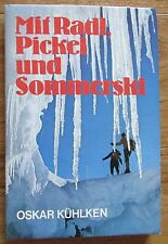 Mit Radl Pickel und Sommerski * Oskar Kühlken Bergland 1975