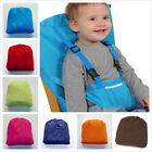 Infant Kids Portable Belt Seat 2 Straps High Chair Safety Travel Soft Going Out