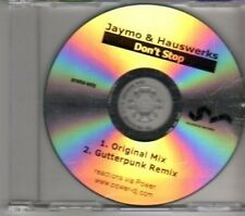 (DE880) Jaymo & Hauswerks, Don't Stop - DJ CD