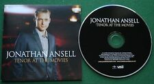 Jonathan Ansell Tenor at The Movies Themes From Godfather & Gladiator + CD