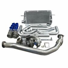 Turbo Kit For 86-92 Supra 7MGTE MK3 Intercooler Downpipe Oil Line