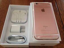 NEW Rose Gold iPhone 6S 16GB Factory UNLOCKED TMobile AT&T Straight Talk + WORLD