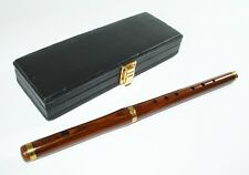 Irish transverse flute B Stimmung with matching Case